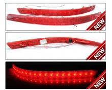 Рефлекторы заднего бампера с режимами габаритной подсветки и функцией стоп-сигнала - Тюнинг Киа Оптима.