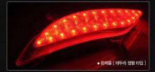 Светодиодные многофункциональные катафоты заднего бампера - Тюнинг оптики Хендэ Санта Фе 3. Производство Gogocar.