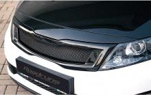 Черная глянцевая решетка радиатора - Тюнинг Kia Optima от ателье Road Runs.