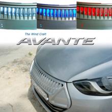 Решетка радиатора Hyundai Elantra