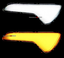 Тюнинг оптики Киа Спортейдж 3 - светодиодные модули в противотуманные фары - от компании ExLed.