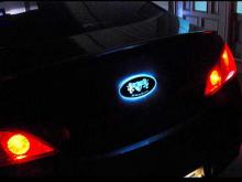 Стайлинг - шильдик со светодиодной подсветкой разных цветов - от компании ArtX.