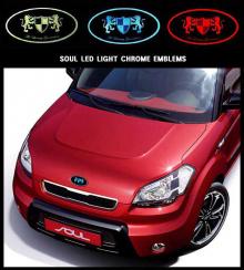 Эмблемы со светодиодной подсветкой от компании ArtX.