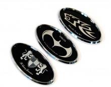 Стайлинг Хендай Соната - комплект эмблем - 3 варианта - от ателье ArtX.