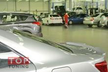 Тюнинг Toyota Camry V50 Спойлер TRD Style