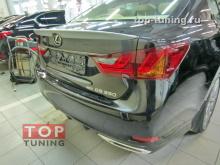 Спойлер TRD-Style на крышку багажника Lexus GS 4 - 2013 New Купить