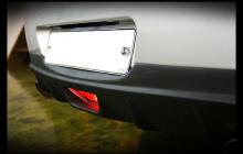 Тюнинг Infiniti G35 Sedan - диффузор на задний бампер.