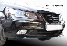 Тюнинг Хендай Соната NF - накладка на передний бампер - от компании Mijoocar.