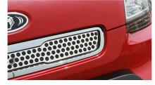 Тюнинг Киа Соул - верхняя решетка радиатора хромированная - от компании Autoria.