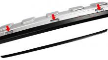 Тюнинг Hyudai ix35 - диффузор заднего бампера - под двойной глушитель - от компании Tuning Face.