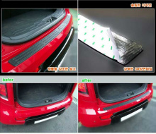 Тюнинг Киа Соул - накладка заднего бампера - от компании Mobis.