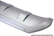 Тюнинг Hyudai ix35 - диффузор заднего бампера - под двойной глушитель - от компании Morris.
