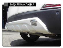 Тюнинг Hyudai ix35 - диффузор заднего бампера - от компании Hanil.