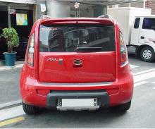 Тюнинг Киа Соул - протекторы переднего и заднего бампера - от компании Tomato.