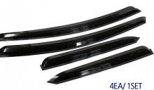 Тюнинг Хендай Соната NF - тонированные ветровики на боковые окна - от производителя Auto Clover.