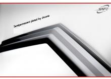 Тюнинг Хендай Велостер - хромированные ветровики на боковые окна - комплект 3 щтуки - от компании Kyung Dong.