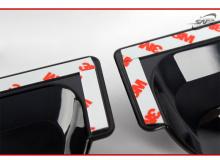 Тюнинг Хендай Велостер - ветровики тонированные на боковые окна - от производителя Kyung Dong.