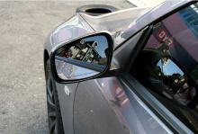 Тюнинг Infiniti G25 - зеркальные элементы широкого обзора со светодиодными повторителями поворотников - от производителя Greentech.