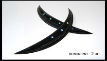 Тюнинг Хендай Велостер - накладки на задние крылья со светодиодной подсветкой - от ателье ArtX.