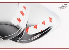 Стайлинг Хендай Соната 5 - накладки в выемки дверных ручек.