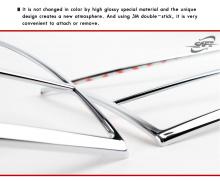 Стайлинг Хендай Соната 5 - хромированные накладки на заднюю оптику - от производителя Kyung Dong.