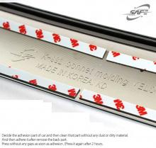 Стайлинг Хендай Велостер - хромированная накладка на капот - от компании Kyung Dong.