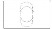 Стайлинг Киа Серато - накладки на колесные арки- комплект 8 штук - от компании Auto Clover.