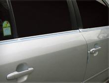 Стайлинг Хендай Соната 5 - накладки на боковые окна хромированные - производитель Kyund Dondg.