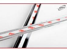 Стайлинг Киа Церато - хромированные накладки на передние фары - от производителя Kyung Dong.