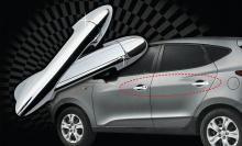 Стайлинг Киа Церато - накладки на дверные ручки - комплект - от компании Auto Clover.