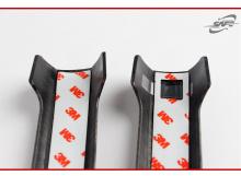 Тюнинг Хендай Соната 5 - молдинги ручек дверей карбновые в хромированной вставкой - от производителя Kyung Dong.