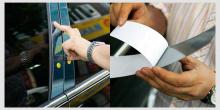 Стайлинг Киа Церато - накладки на стойки - комплект 8 штук - от компании Kumchang.