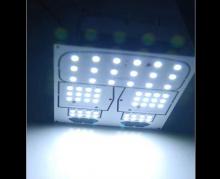 Тюнинг салона Киа Спортейдж - светодиодные модули подсветки салона