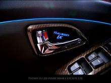 Тюнинг Hyundai ix35 - вставки под дверные ручки в салоне со светодиодной подсветкой - комплект 4 штуки - от компании Sense Light.
