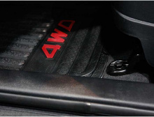 Тюнинг салона Хендай ix35 - комплект резиновых ковриков.