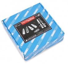 Тюнинг салона Киа Спортейдж - накладки хромированные в салон - от компании Auto Clover - комплект 6 штук.
