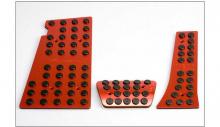 Тюнинг салона Хендай Велостер - накладка алюминиевые на педали - от компании Better Grip.