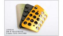Тюнинг салона Киа Спортейдж - накладки на педали алюминиевые - от компании Better Grip.