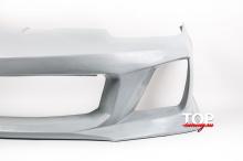 Передний бампер из тюнинг комплекта обвеса Warrior Myssa Exclusive - Тюнинг Hyundai Coupe (РЕСТАЙЛИНГ).