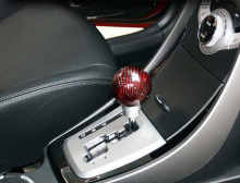 Ручка рычага коробки передач, карбоновая - Тюнинг салона Hyundai Elantra (Avante) MDот GREENTECH.