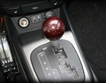 Ручка рычага коробки передач КПП, карбоновая - Тюнинг салонаHyundai - YF от GREENTECH.