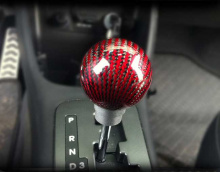 Ручка рычага коробки передач КПП, карбоновая - Тюнинг салона Kia Picanto 2 от GREENTECH.