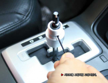 Ручка рычага коробки передач КПП, карбоновая - Тюнинг салона Kia Cerato от GREENTECH.