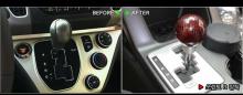 Ручка рычага коробки передач КПП, карбоновая - Тюнинг салона Kia Ray от GREENTECH.