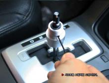 Ручка рычага коробки передач КПП, карбоновая - Тюнинг салона Kia Sorento R (2) от GREENTECH.
