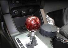 Ручка рычага коробки передач КПП, карбоновая - Тюнинг салона Ssang Yong Actyon (Sports)от GREENTECH.
