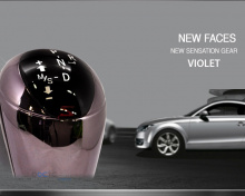 Новая рукоятка КПП (переключения передач) с подсветкой, тюнинг салона Hyundai 5G Grandeur HG, от производителя New Faces.