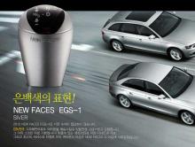 Новая рукоятка КПП (переключения передач) с подсветкой, тюнинг салона Kia Optima (K5), от производителя New Faces.