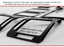 Тюнинг салона Хендай Соната 5 - декоративные карбоновые накладки в салон - от производителя Kyung Dong.