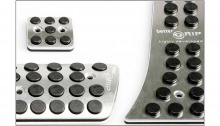 Тюнинг салона Хендай Грандер - алюминиевые накладки на педали
